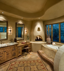 Southwestern Master Bath