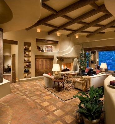 Southwestern Living Room